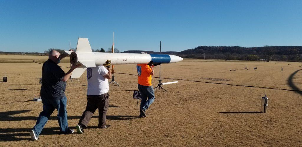 RocketScience rocket headed for pad 99