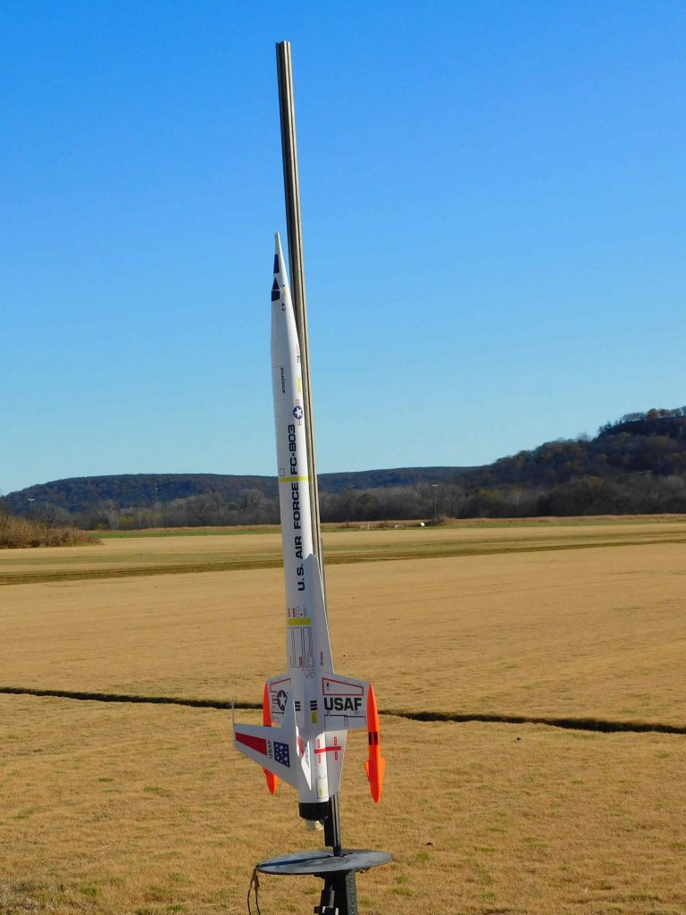 Awsome rocket ready for flight