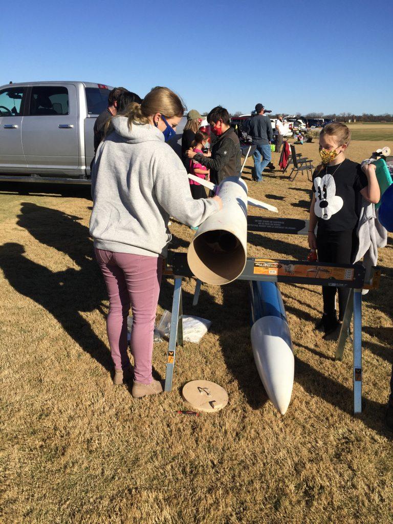 Signing the RocketScience rocket